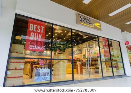 Penang, Malaysia - Nov 11, 2017: Camel Active shop. camel active typifies