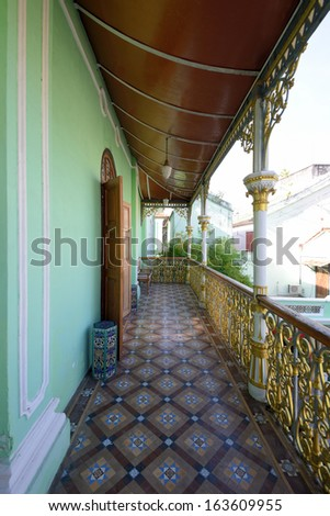 Penang Peranakan Mansion - stock photo