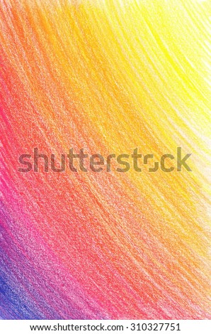 Pencil background - stock photo