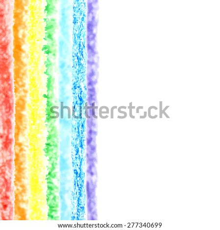 Pencil background with place for text. Sketch design. Rainbow pencil texture. Grunge background. raster illustration. - stock photo