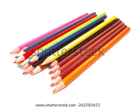 Pencil color      - stock photo