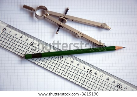 Pencil Compass And Ruler