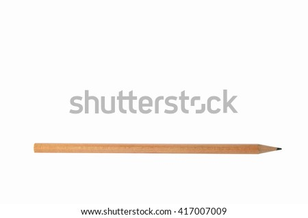 pencil isolated on white background.