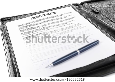 Pencil sketch. objects in the workplace of a businessman in office - stock photo