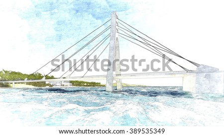 Pencile Bridge