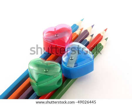 Pencils and tools for sharpening