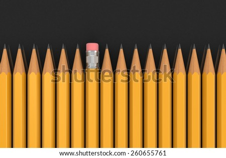 Pencils (clipping path included)