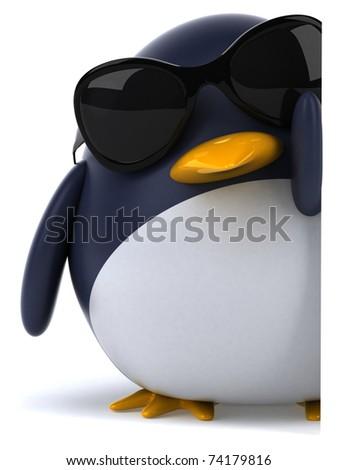 Penguin - stock photo