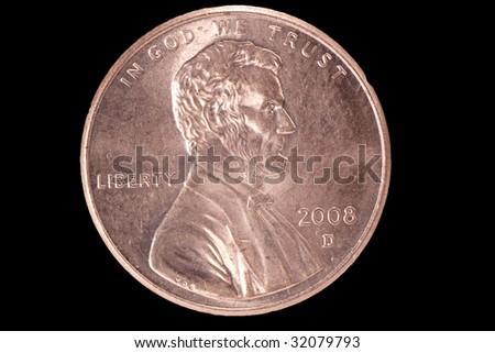 Penny - stock photo