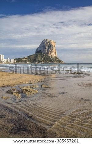 Penon de Ifach in Calpe, Alicante, Spain