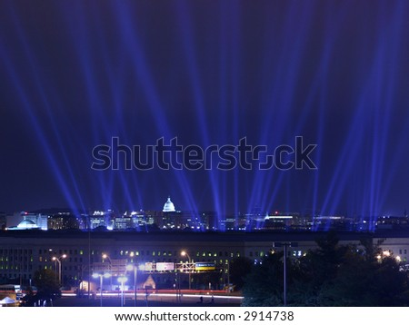 Pentagon Building in Washington DC - stock photo
