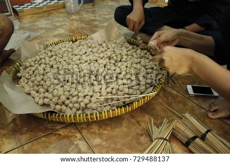 Pentol indonesian special food stock photo royalty free 729488137 pentol is indonesian special food altavistaventures Image collections