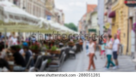 People background - stock photo