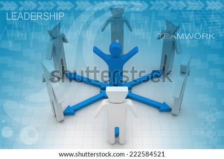 People Communication  - stock photo