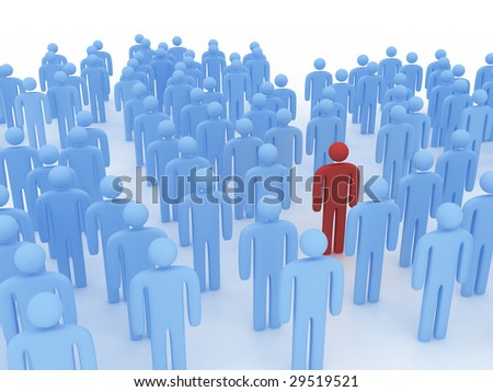 people concept - stock photo