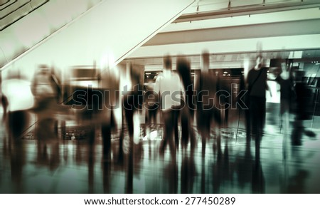 People Consumer Shopping Commuter Consumerism Crowded Concept