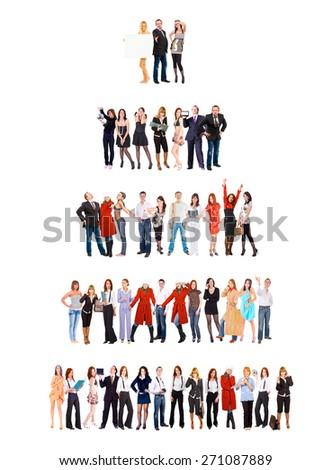 People Diversity Business Idea  - stock photo