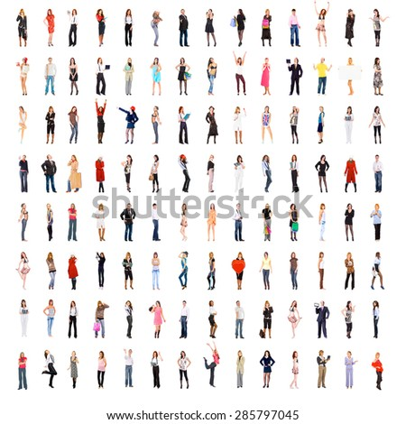 People Diversity United Company  - stock photo