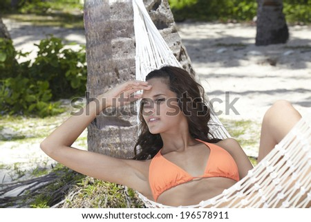 people relaxing at the beautiful beach,Boracay in Philippine - stock photo