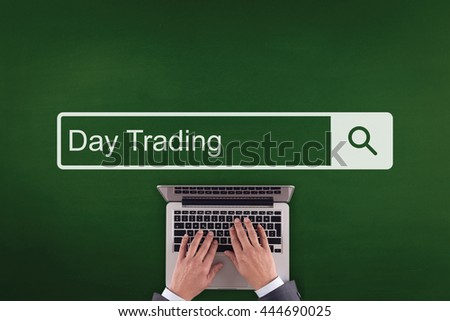 PEOPLE WORKING OFFICE COMMUNICATION  DAY TRADING TECHNOLOGY SEARCHING CONCEPT - stock photo