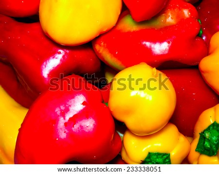 Pepper. - stock photo