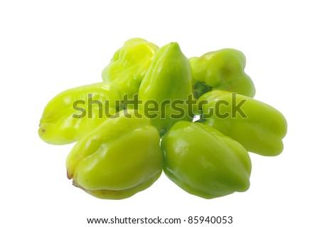 Pepper green - stock photo