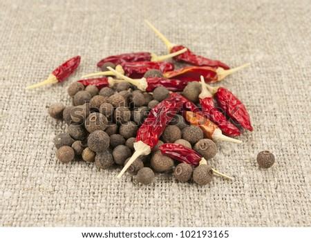 pepper mix - stock photo