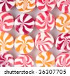 Peppermint Candies - stock photo