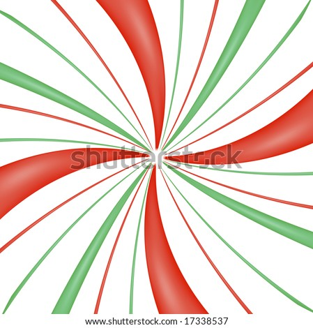 peppermint candy swirl background - stock photo