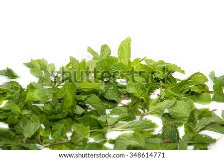 peppermint vegetables