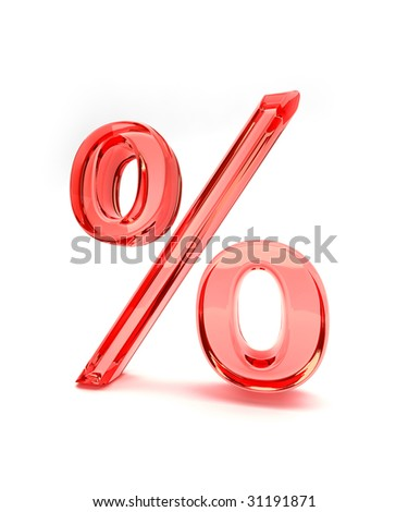 Percent sign red 2