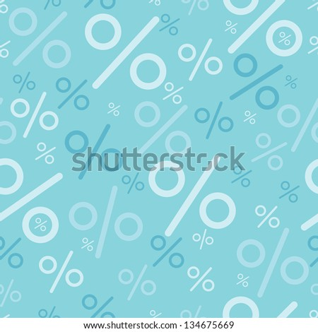 Percentage signs seamless pattern backgrounds raster - stock photo