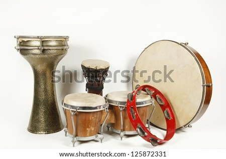 Percussion instrument - stock photo