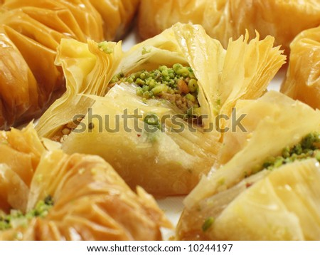 Perfect Baklava - stock photo