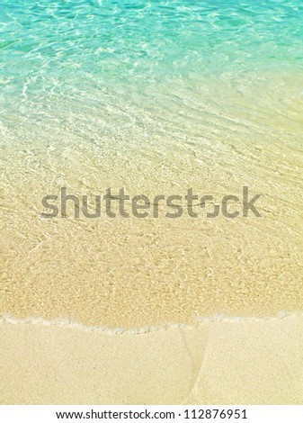 Perfect beach - stock photo