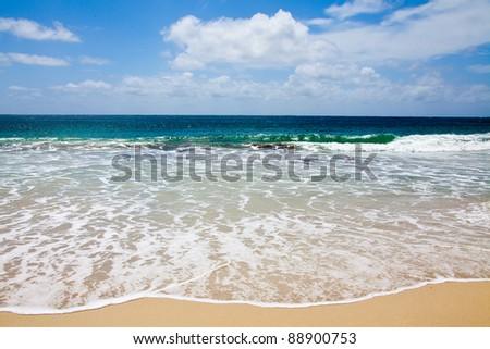 Perfect Beach, Injidup Beach in Western Australia - stock photo