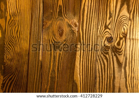 Perfect irregular old dark bright wood timber surface texture background. Works as frame, in the 3D world to simulate natural textures or as a virtual backdrop or blackboard to write or pin notices on - stock photo