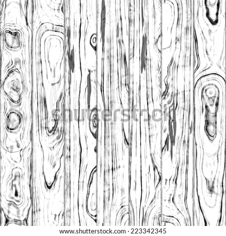 Perfect Old White Wood Background - stock photo