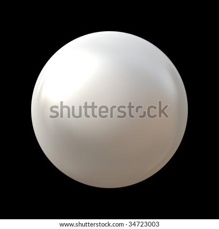 Perfect Pearl - stock photo