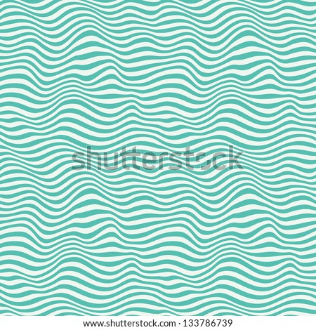 Perfect seamless blue waves. Abstract pattern