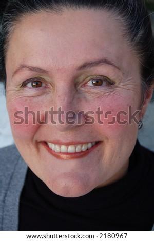 Perfect smile! - stock photo