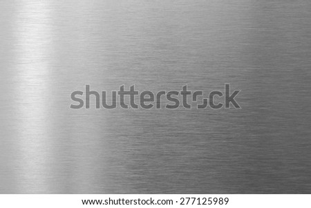perfect steel metal texture background - stock photo
