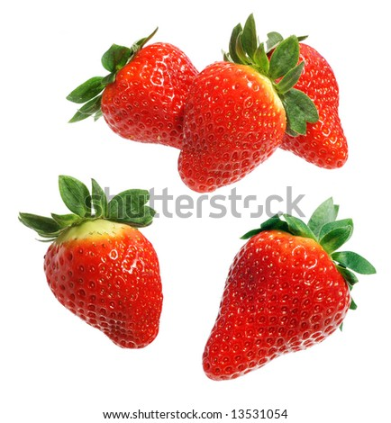 perfect strawberries