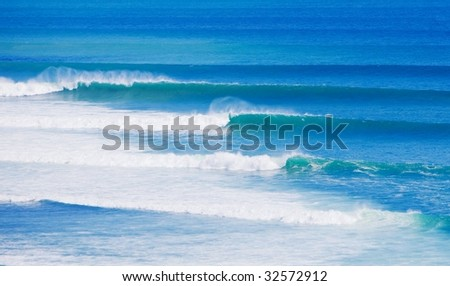 Perfect Surf - stock photo