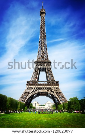 Perfect Tower in Paris - stock photo