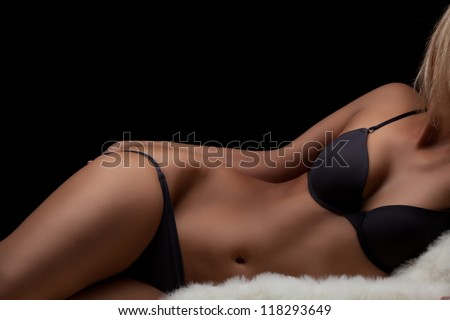Perfect womans body - stock photo