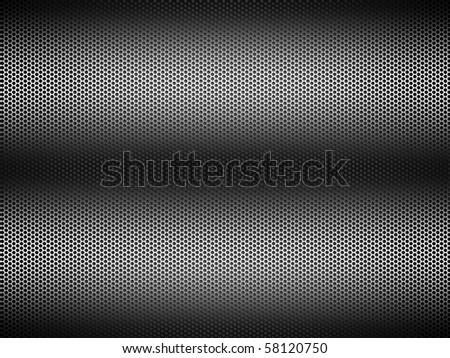 perforated metal - stock photo