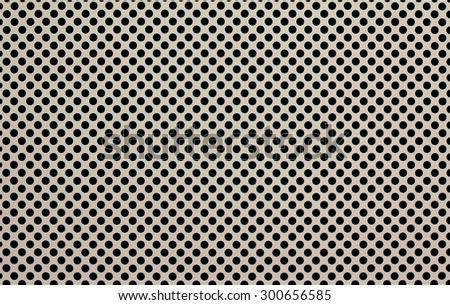 perforated metal grille plate texture