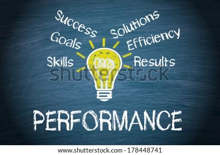 Performance - stock photo