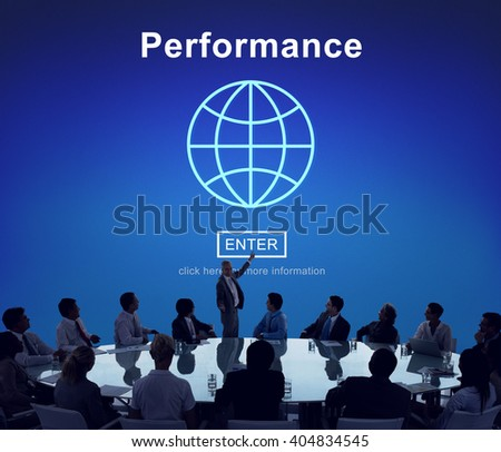 Performance Ability Skill Experience Professional Concept - stock photo